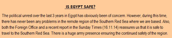 egypt statement