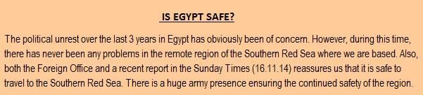 egypt statement